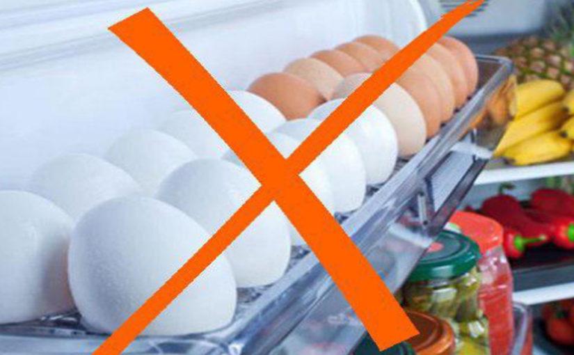 Как правильно хранить яйца в холодильнике