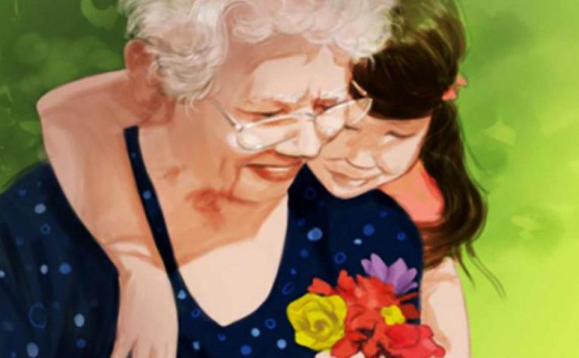 Забота бабушки и дедушки о внуках