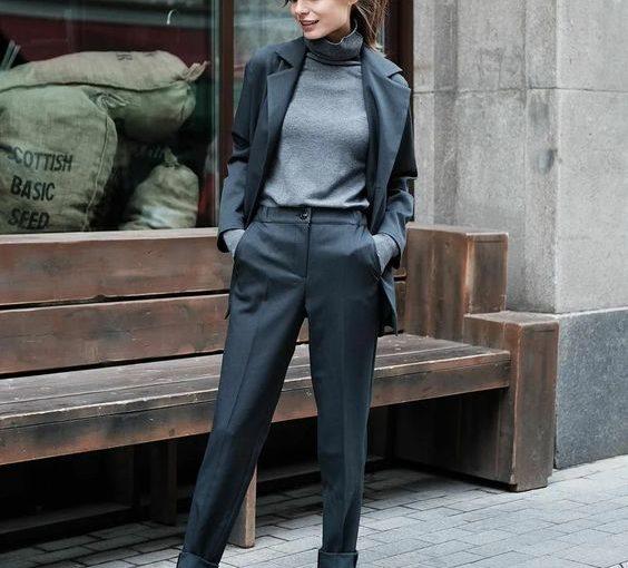 Как одевается уверенная в себе женщина